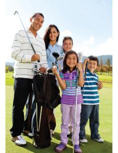 Family-Golfers